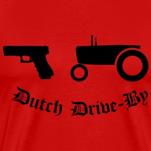 Dutch Drive-by T-shirts - Herre premium T-shirt
