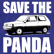 Ontwerp ~ Save the Panda Funny T-shirt