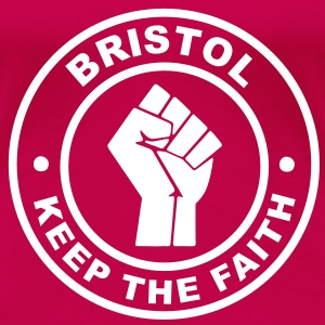 Bristol Keep the Faith T-Shirts - Women's Premium T-Shirt