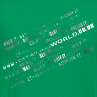 Design ~ Detailing World 'Detail it' Dual Sided T-Shirt (Men's)