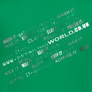 Design ~ Detailing World 'Detail it' Dual Sided T-Shirt (Men's)