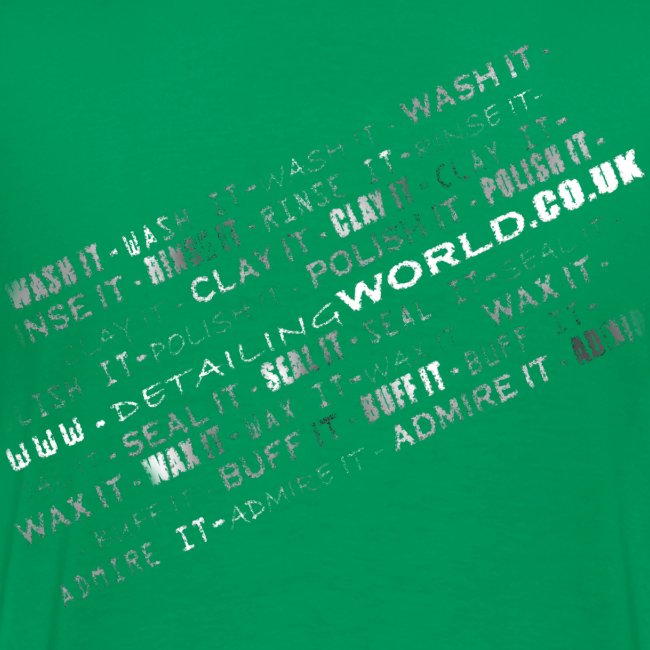 Detailing World 'Detail it' Dual Sided T-Shirt (Men's)