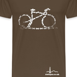 Cycling Bike Chain 160bpm.co.uk - Men's Premium T-Shirt