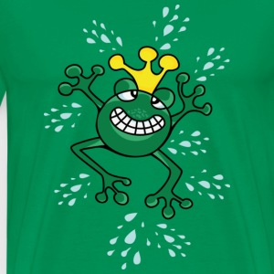 Prince Froggy T-shirts - Herre premium T-shirt