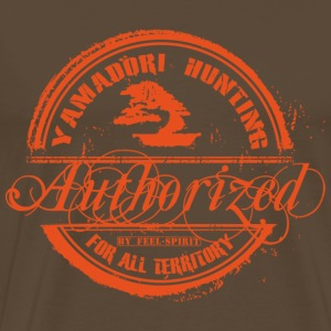 Tampon Yamadori Hunting Authorized - T-shirt Premium Homme