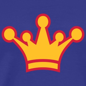 crown_symbol_2c T-shirts - Mannen Premium T-shirt