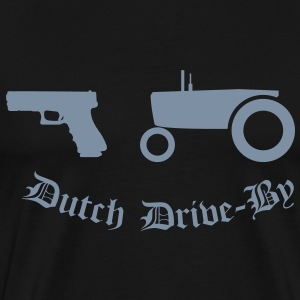 Dutch Drive-by T-skjorter - Premium T-skjorte for menn