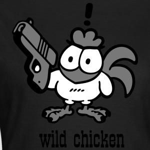 wild chicken - Frauen T-Shirt