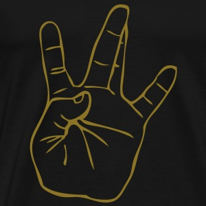 Westside Gangster Hand Tee shirts - T-shirt Premium Homme