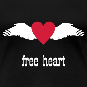 Wings & Heart T-Shirts - Women's Premium T-Shirt
