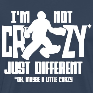 I'm Not Crazy (field hockey) T-Shirts - Men's Premium T-Shirt