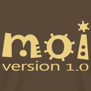moi version 1.0 (1c) Tee shirts - Men's Premium T-Shirt