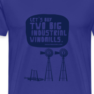 Design ~ WINDMILLS (light blue)