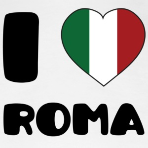 I Love Roma T-Shirts - Frauen Premium T-Shirt