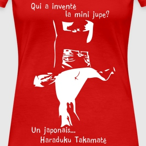 invention de la mini jupe T-shirts - T-shirt Premium Femme
