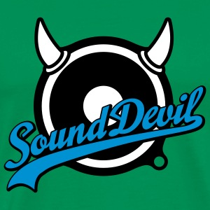Sound Devil | Volume | Bass T-Shirts - Premium-T-shirt herr
