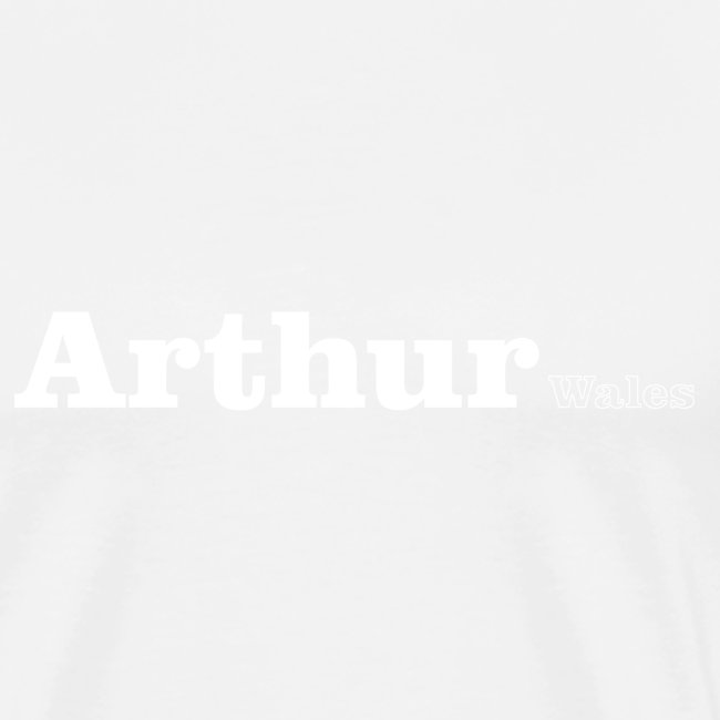 Arthur Wales white text