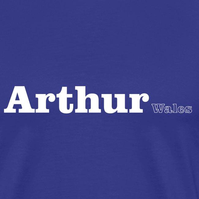 Arthur Wales white text