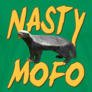 Honey Badger Nasty MOFO T-Shirts - Men's Premium T-Shirt