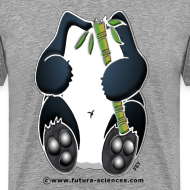 Motif ~ Panda homme gris perle