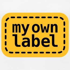 My own Lable | Marke | Etikett T-Shirts - Premium T-skjorte for kvinner