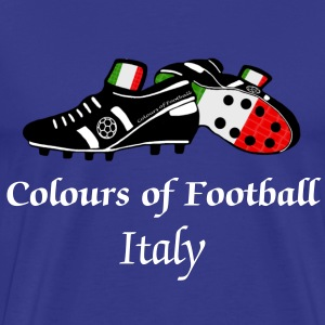 Italy football world soccer t-shirts - Men's Premium T-Shirt