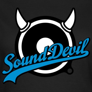 Sound Devil | Volume | Bass T-Shirts - T-shirt dam