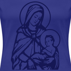 Mary and Jesus T-Shirts - T-shirt Premium Femme