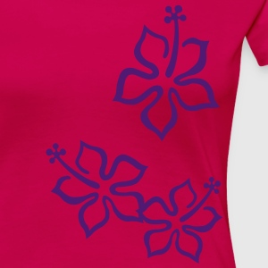 Hawai flowers T-Shirts - Women's Premium T-Shirt