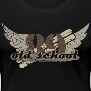 old school light T-Shirts - Frauen Premium T-Shirt