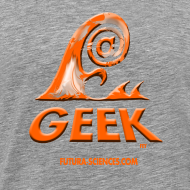 Motif ~ Geek wave gris orange