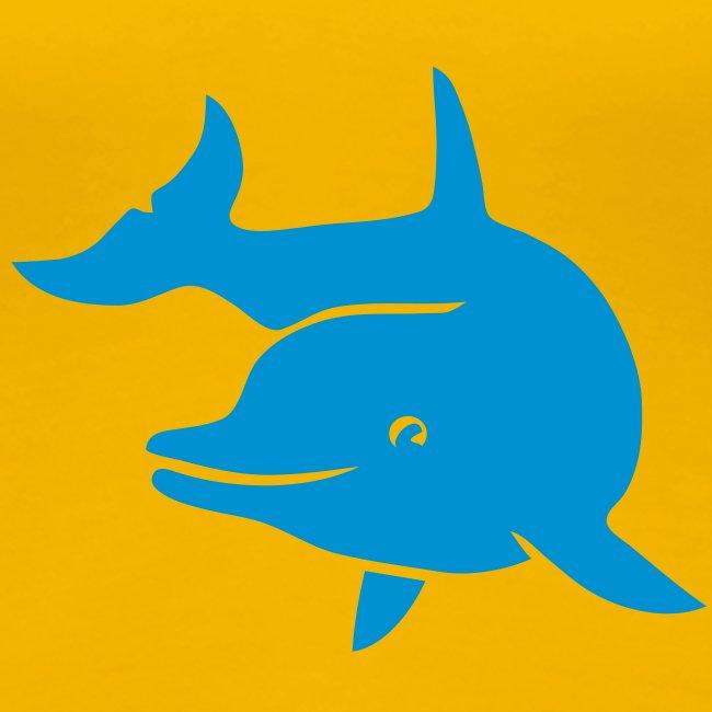 t-shirt delphin delfin dolphin wal orka orca flipper