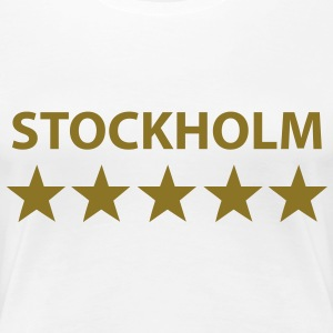 stockholm 5 star T-Shirts - Frauen Premium T-Shirt