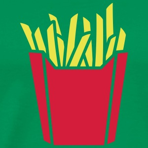fastfood_french_fries_2c T-shirt - Maglietta Premium da uomo