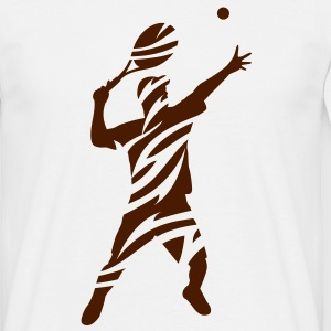 Tennis - T-shirt herr