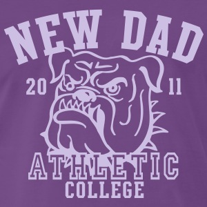NDC New Dad Athletic College Shirt LF - Men's Premium T-Shirt