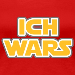 Ich wars | Ich war es T-Shirts - Premium T-skjorte for kvinner