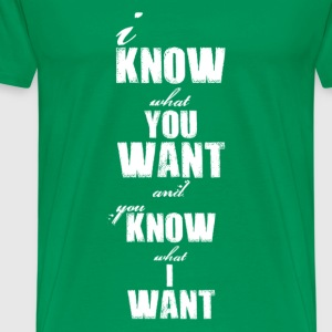 you_know_what Tee shirts - T-shirt Premium Homme