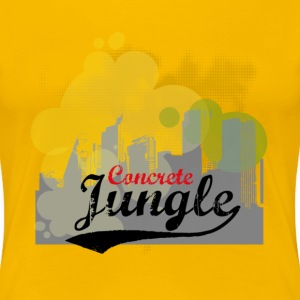concrete jungle T-Shirts - Frauen Premium T-Shirt