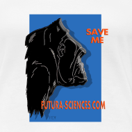 Motif ~ Save gorille femme blanc