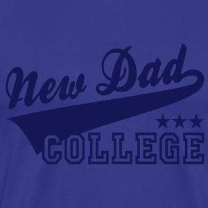 NDC New Dad College 3S T-Shirt NS - Men's Premium T-Shirt
