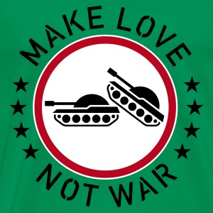 Make Love Not War, T-Shirt - Männer Premium T-Shirt