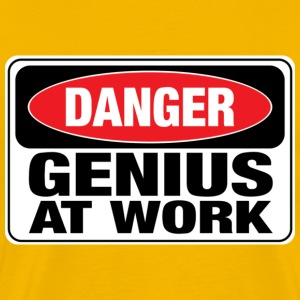 danger_genius_at_work T-Shirts - Männer Premium T-Shirt