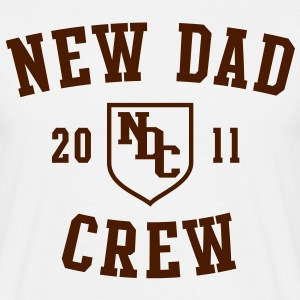 NDC - NEW DAD CREW 2011 T-Shirt BK - Men's T-Shirt