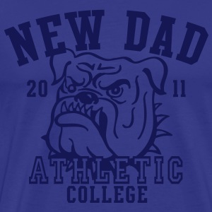 NDC New Dad Athletic College Shirt NS - Männer Premium T-Shirt
