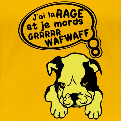 chien mechant attention a la rage