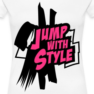 jump with style T-Shirts - T-shirt Premium Femme