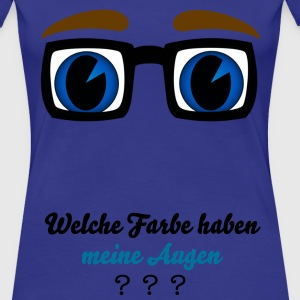 BrilleBigBlue T-Shirts - Frauen Premium T-Shirt