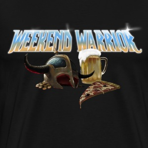Weekend Warrior Metal - T-shirt Premium Homme