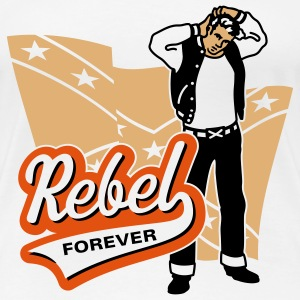 Rebel forever, Girlie-T-Shirt - Women's Premium T-Shirt